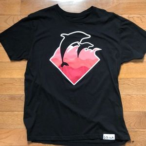 Men's designer Pink Dolphin shirt